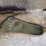 Lord Hanuman's Giant Footprints throughout Asia