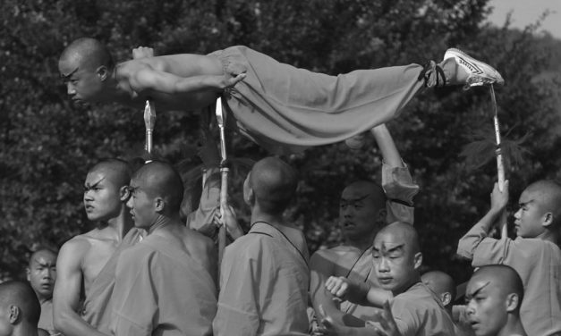 Shaolin Monks are not Human